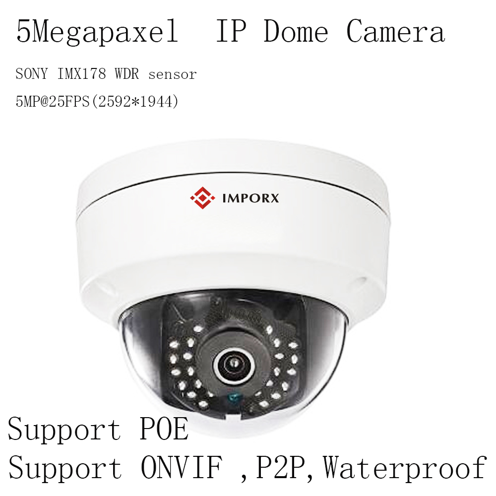 High Quality 5megapixel Dome Ip Camera